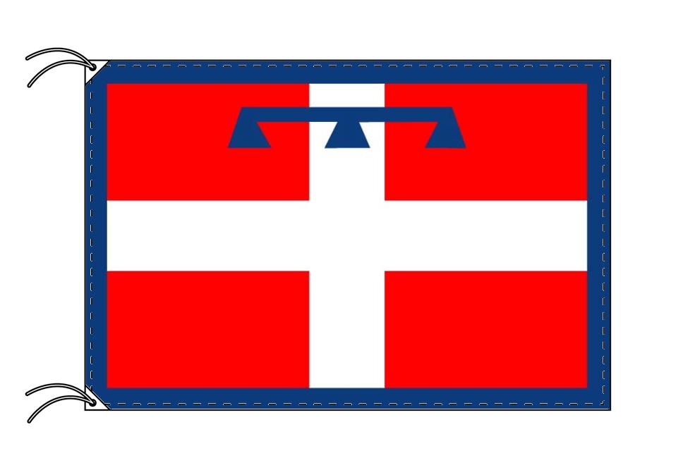イタリア・州旗 ピエモンテ州(100×105cm・高級テトロン製・日本製)