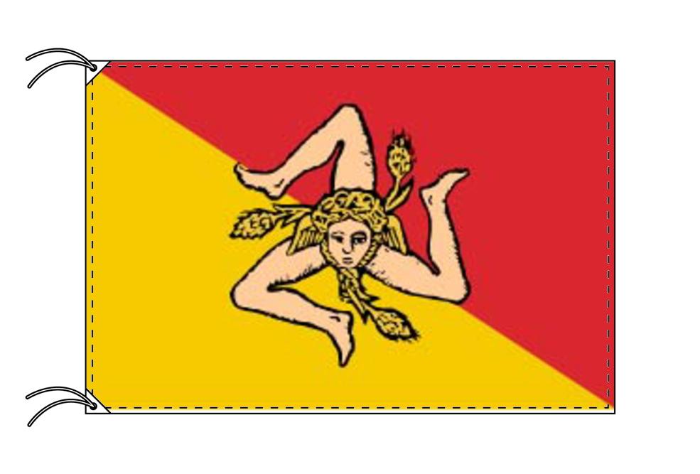 イタリア・州旗 シチリア州(100×105cm・高級テトロン製・日本製), 和洋 中華食器の産地問屋本荘:6443b33c --- sunward.msk.ru