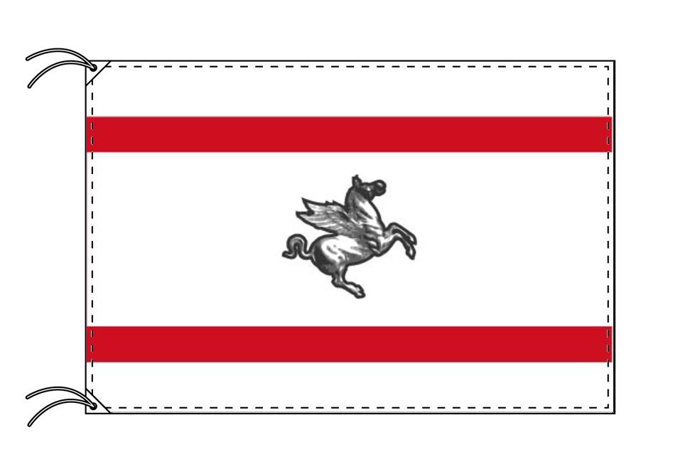 イタリア・州旗 トスカーナ州(120×180cm・高級テトロン製・日本製)