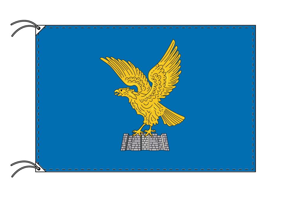 イタリア・州旗 フリウリ=ヴェネチア・ジュリア州(70×105cm・高級テトロン製・日本製)