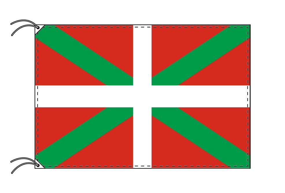 スペイン・自治州旗 バスク州(90×135cm・高級テトロン・日本製)
