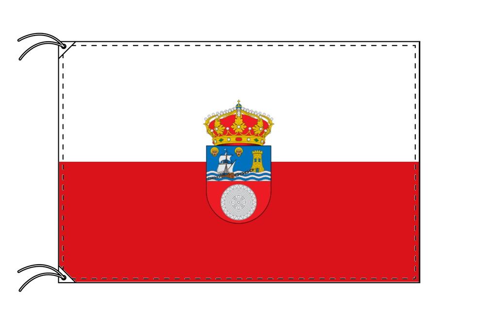 スペイン・自治州旗 カンタブリア州(100×150cm・高級テトロン・日本製)