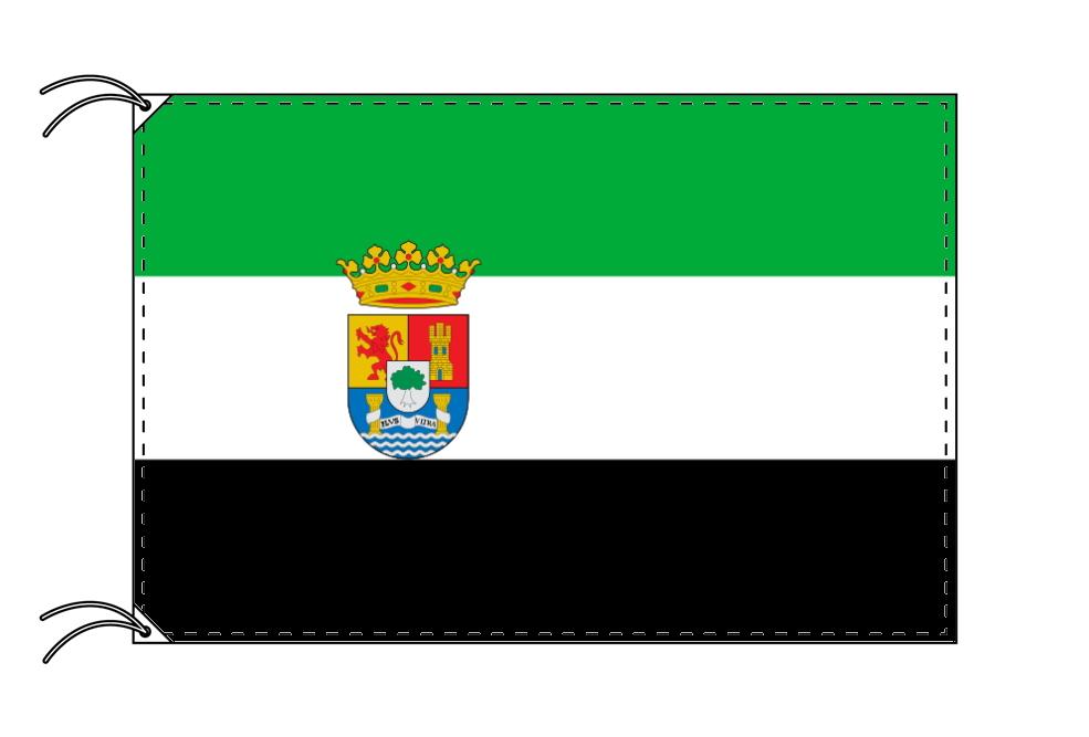 スペイン・自治州旗 エストレマドゥーラ州(90×135cm・高級テトロン・日本製)