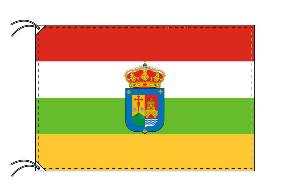 スペイン・自治州旗 ラ・リオハ州(100×150cm・高級テトロン・日本製)
