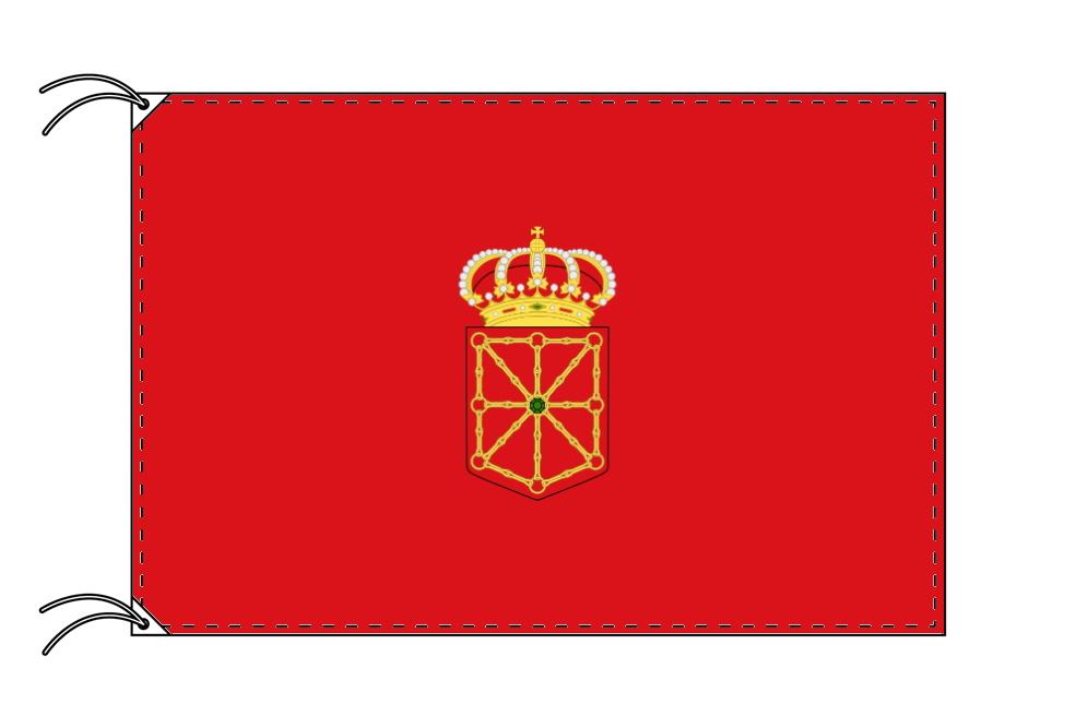 スペイン・自治州旗 ナバーラ州(100×150cm・高級テトロン・日本製)