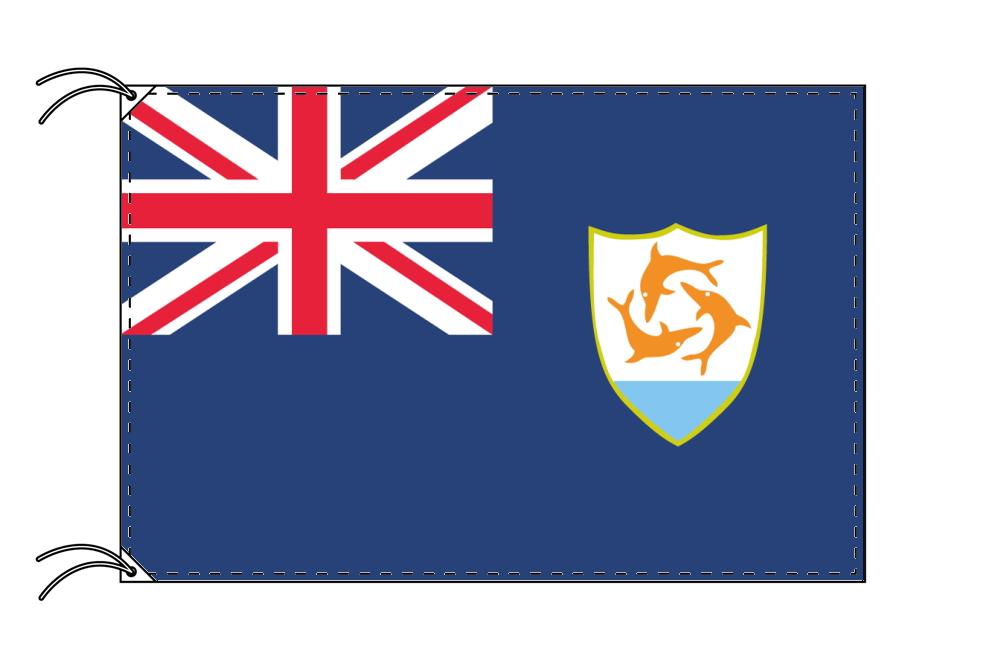 イギリス海外領の旗 アンギラの旗(120×180cm)【受注生産】