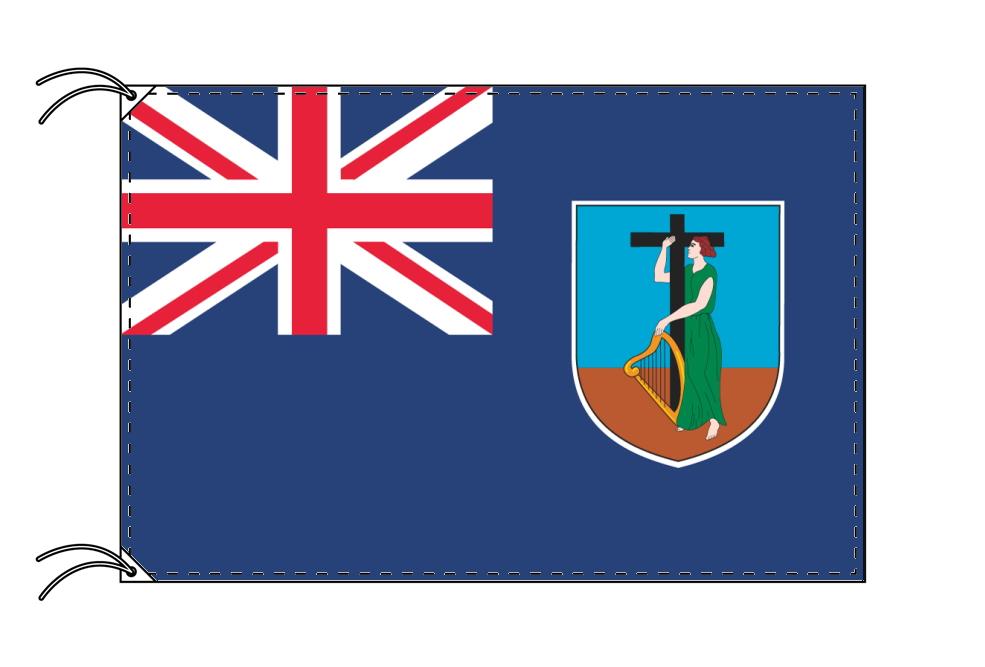 イギリス 海外領の旗 モントセラトの旗(120×180cm)【受注生産】
