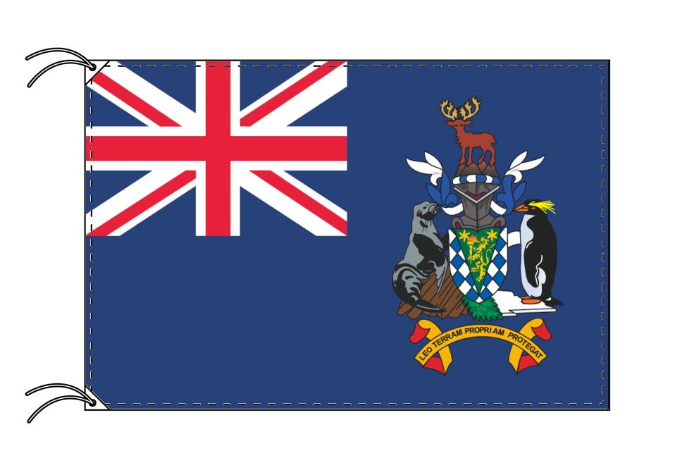 イギリス海外領の旗 サウスジョージア・サウスサンドウィッチ諸島の旗(140×210cm)【受注生産】
