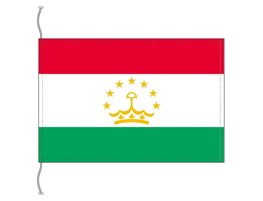 世界の国旗 タジキスタン・高級国旗セット【アルミ合金ポール・壁面取付部品付】【smtb-u】