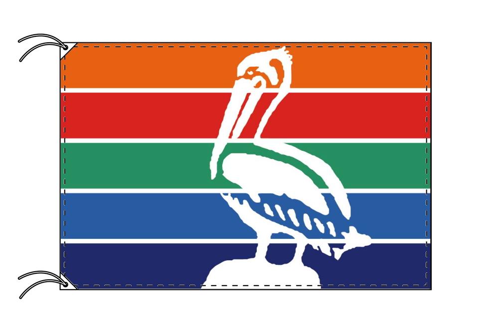 セント・ピーターズバーグ市旗 アメリカフロリダ州の都市[120×180cm・高級テトロン製]受注生産
