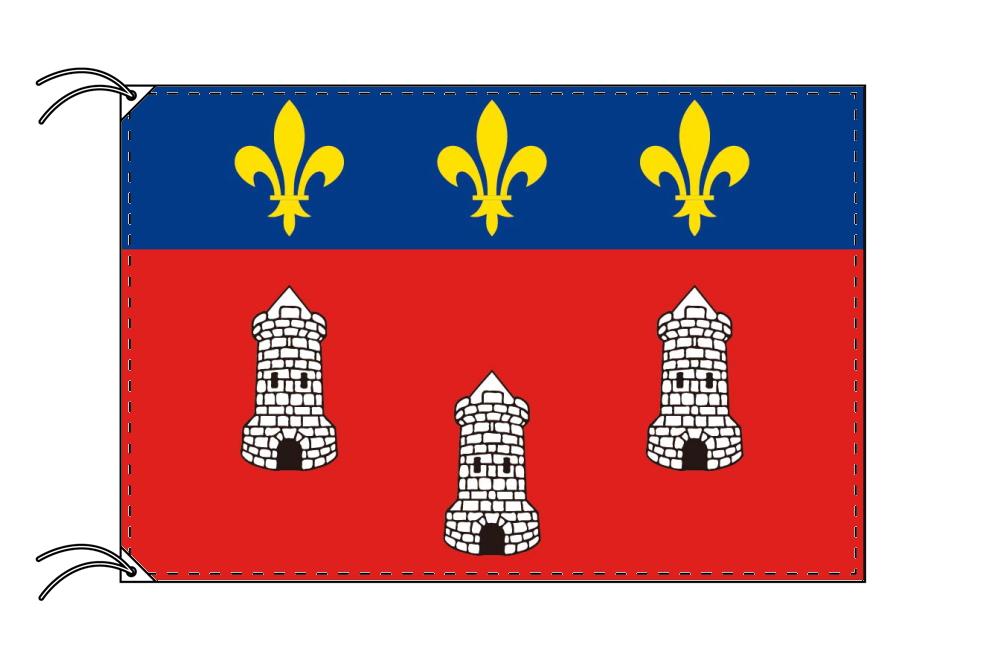 トゥール市旗 フランスの都市 [90×135cm・高級テトロン製]受注生産