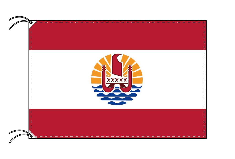 ポリネシア 国旗 フランス領[100×150cm・高級テトロン製]受注生産