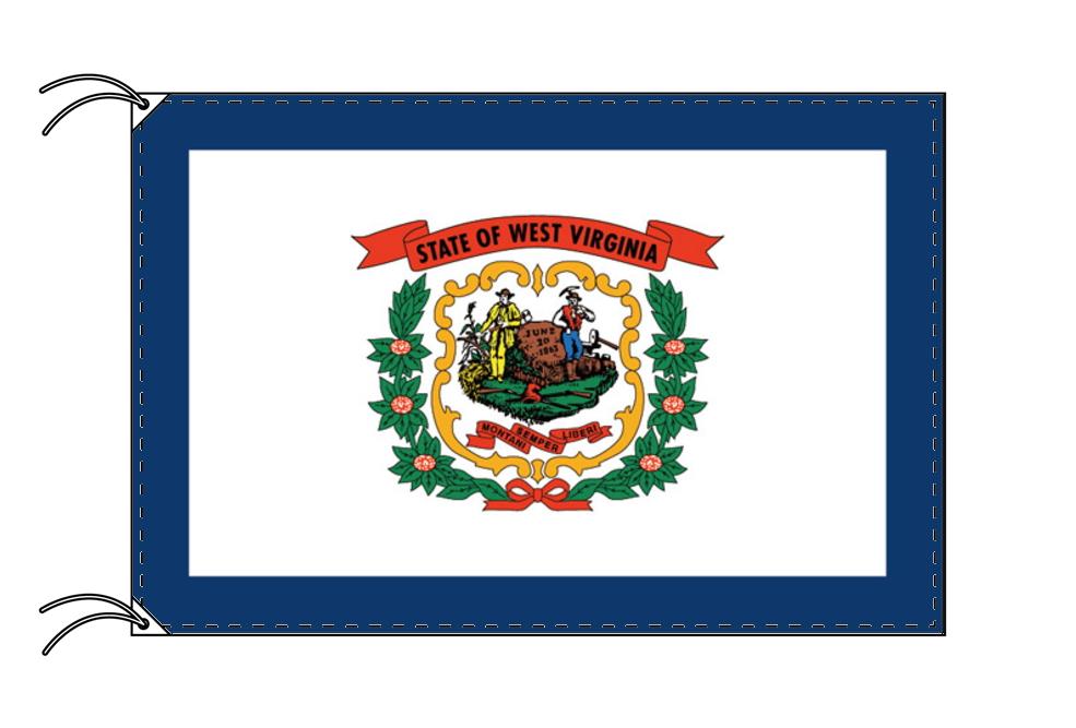 ウェストバージニア州旗[アメリカ合衆国の州旗・120×180cm・高級テトロン製]