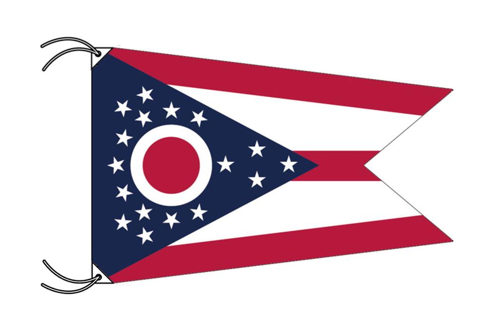 オハイオ州旗[アメリカ合衆国の州旗・100×150cm・高級テトロン製], みちのく岩手のワイン屋 竹澤:ad82f235 --- sunward.msk.ru