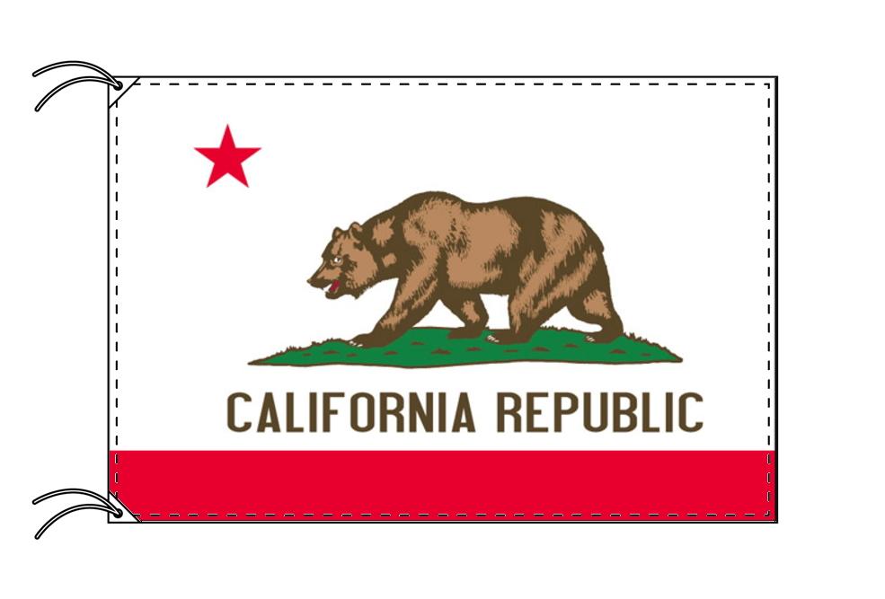 カリフォルニア州旗[アメリカ合衆国の州旗・120×180cm・高級テトロン製]