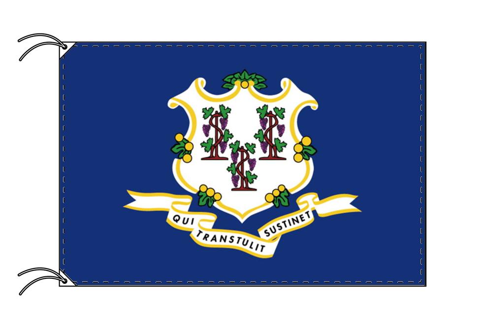 コネチカット州旗[アメリカ合衆国の州旗・120×180cm・高級テトロン製]