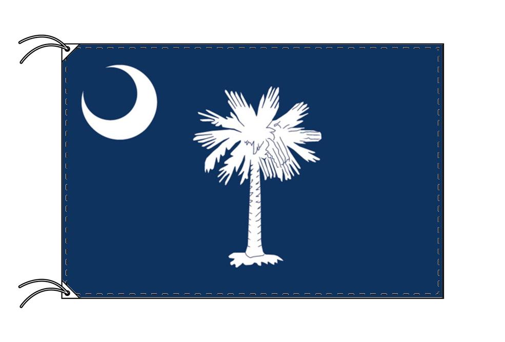 サウスカロライナ州旗[アメリカ合衆国の州旗・100×150cm・高級テトロン製]