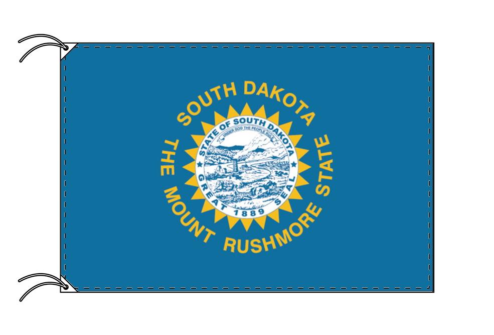サウスダコタ州旗[アメリカ合衆国の州旗・120×180cm・高級テトロン製]