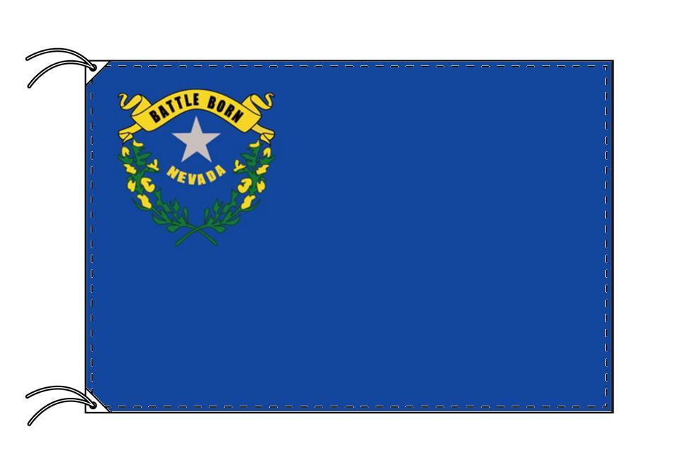 ネバダ州旗[アメリカ合衆国の州旗・90×135cm・高級テトロン製]