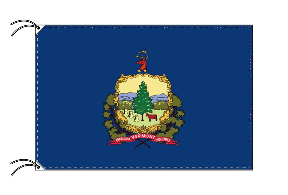 バーモント州旗[アメリカ合衆国の州旗・90×135cm・高級テトロン製]