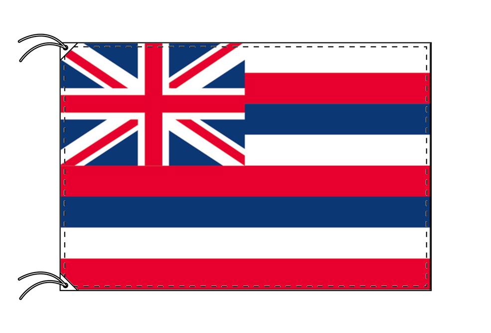 ハワイ州旗[アメリカ合衆国の州旗・100×150cm・高級テトロン製], スマイルファクトリー:ff308372 --- sunward.msk.ru