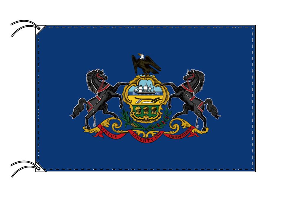 ペンシルベニア州旗[アメリカ合衆国の州旗・100×150cm・高級テトロン製], パワーストーン 天然石 パスクル:5f2cdce7 --- sunward.msk.ru