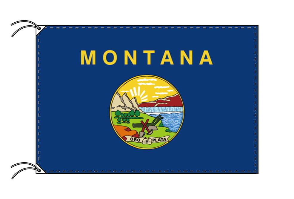 モンタナ州旗[アメリカ合衆国の州旗・100×150cm・高級テトロン製], 高浜市:f9d6dfb3 --- sunward.msk.ru