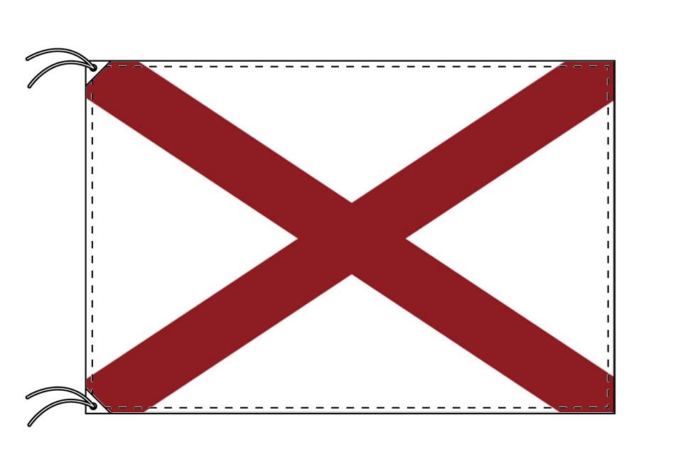 アラバマ州旗[アメリカ合衆国の州旗・120×180cm・高級テトロン製]