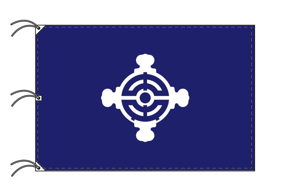 中央区 区旗(140×210cm・東京都23区・テトロン製・日本製)