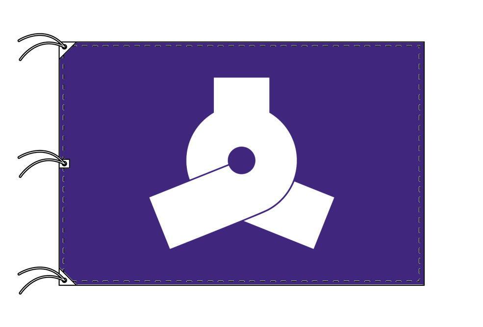 文京区 区旗(140×210cm・東京都23区・テトロン製・日本製)