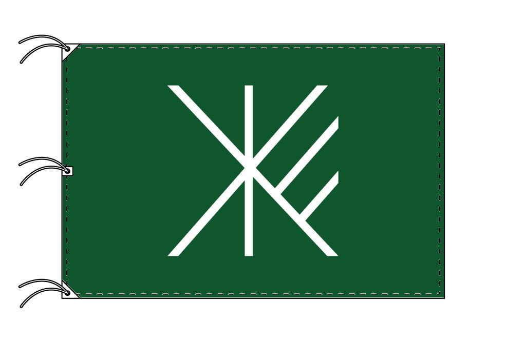 杉並区 区旗(140×210cm・東京都23区・テトロン製・日本製)