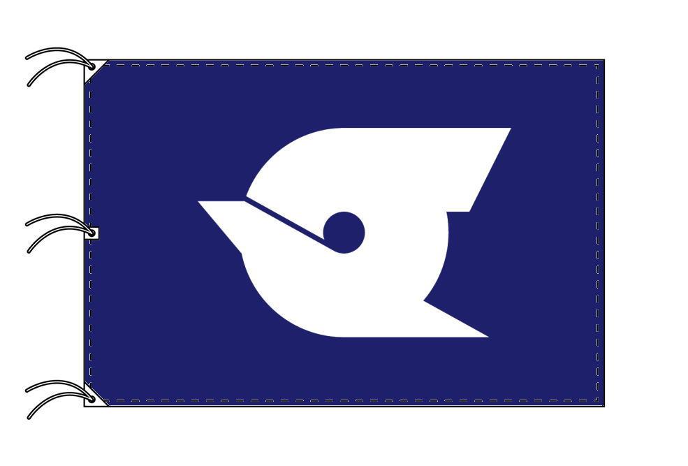 江戸川区 区旗(140×210cm・東京都23区・テトロン製・日本製)