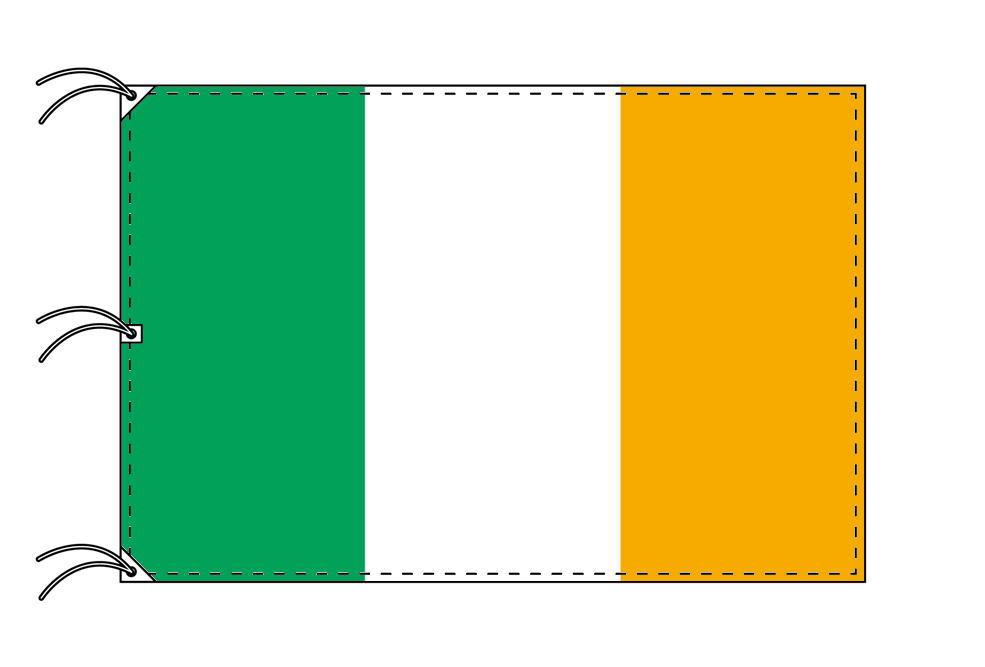 世界の国旗 アイルランド国旗[200×300cm・高級テトロン製]NO.6号