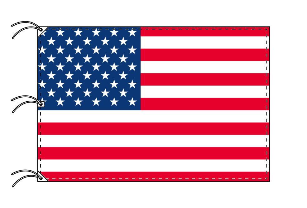 世界の国旗 アメリカ国旗・USA・星条旗[200×300cm・高級テトロン製]NO.6号