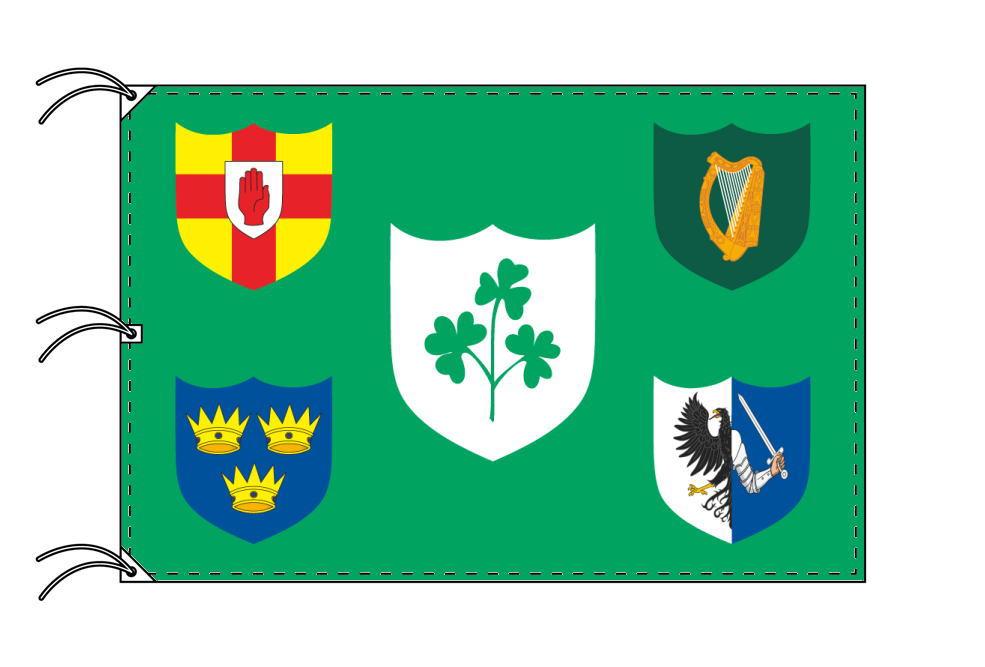 アイルランド ラグビー代表 の旗 140×210cm 高級テトロン製 安心の日本製 【smtb-u】