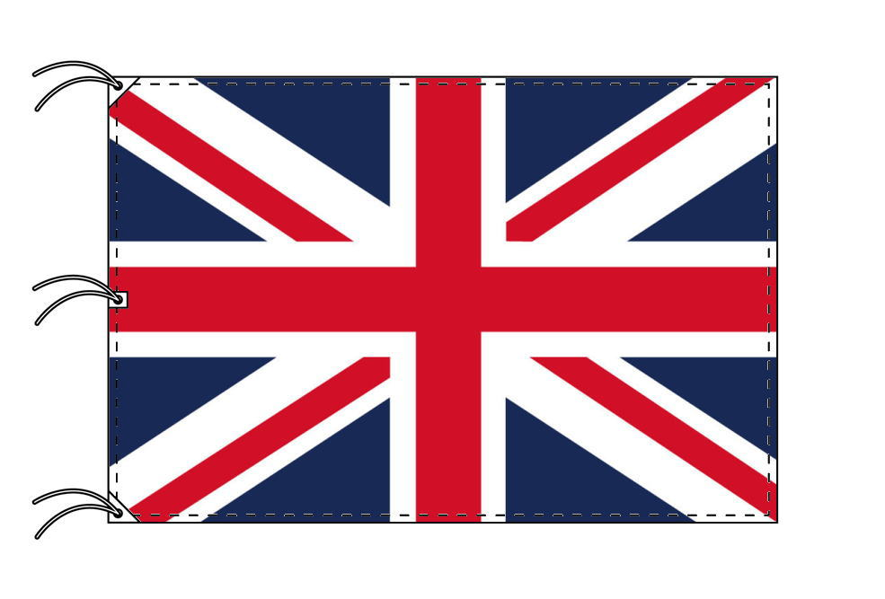 世界の国旗 イギリス国旗・英国旗ユニオンジャック[200×300cm・高級テトロン製]NO.6号