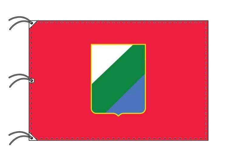 イタリアの州旗 アブルッツォ州[140×210cm・高級テトロン製・日本製]