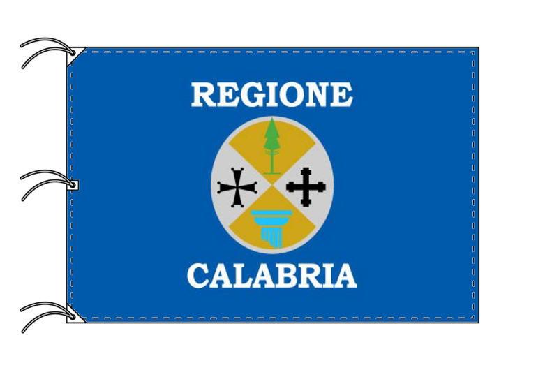 イタリア・州旗 カラブリア州(140×210cm・高級テトロン製・日本製) -国旗