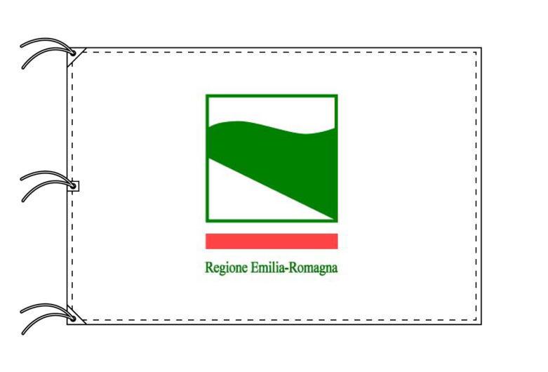 イタリア・州旗 エミリア=ロマーニャ州(140×210cm・高級テトロン製・日本製)