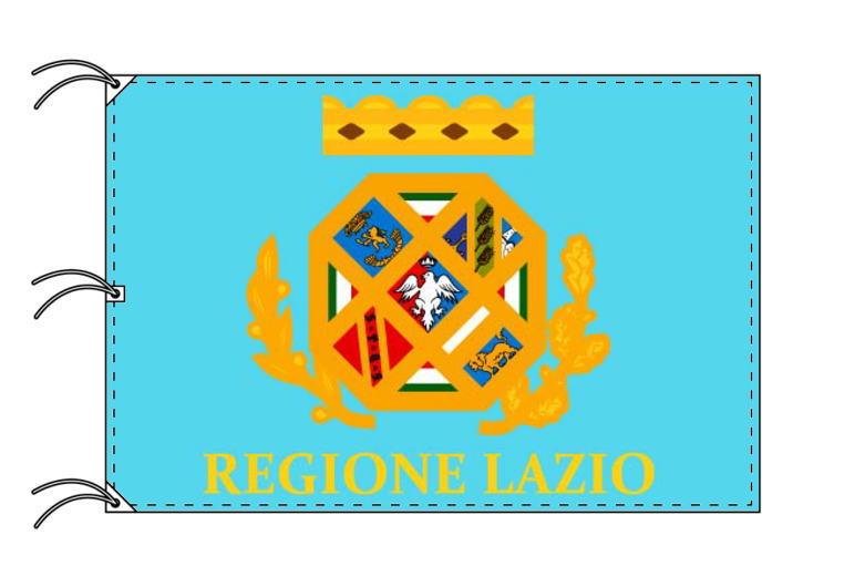 イタリア・州旗 ラツィオ州(140×210cm・高級テトロン製・日本製)