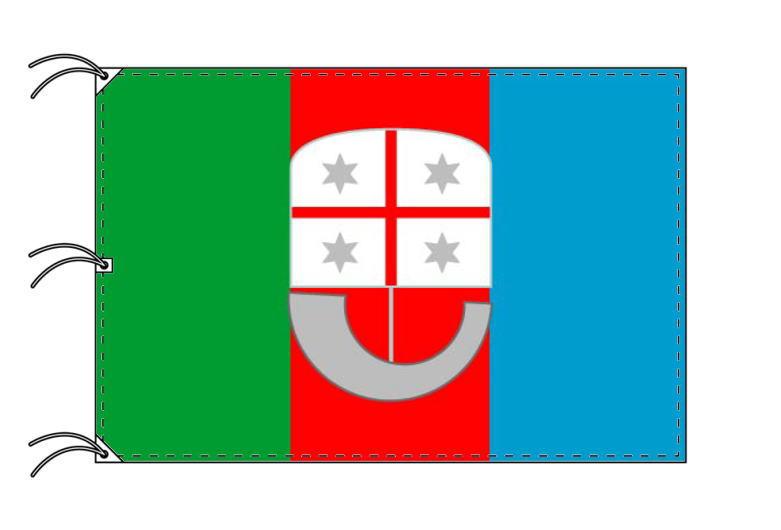 イタリア・州旗 リグーリア州(140×210cm・高級テトロン製・日本製)