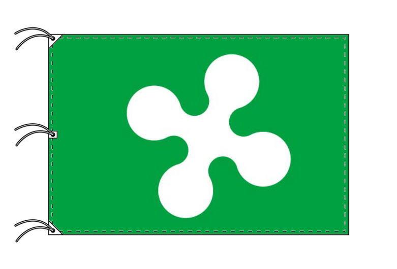 イタリア・州旗 ロンバルディア州(140×210cm・高級テトロン製・日本製)
