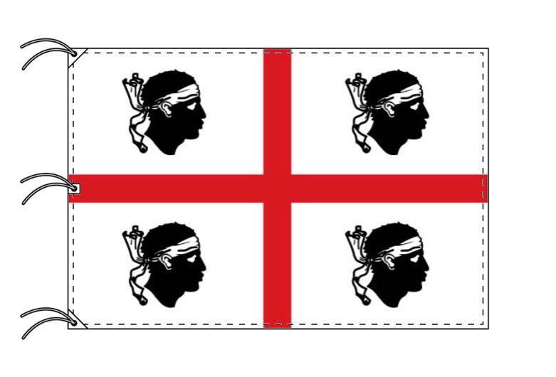イタリア・州旗 サルデーニャ州(140×210cm・高級テトロン製・日本製)