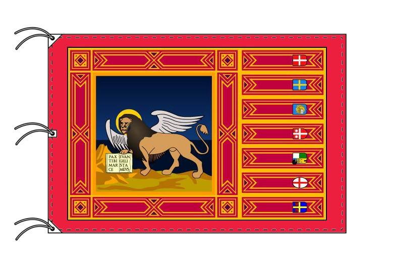 イタリア・州旗 ヴェネト州(140×210cm・高級テトロン製・日本製)