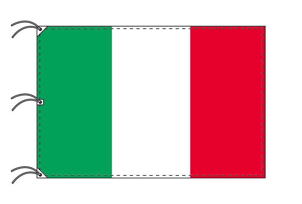 世界の国旗 イタリア国旗・トリコローレ[200×300cm・高級テトロン製]NO.6号