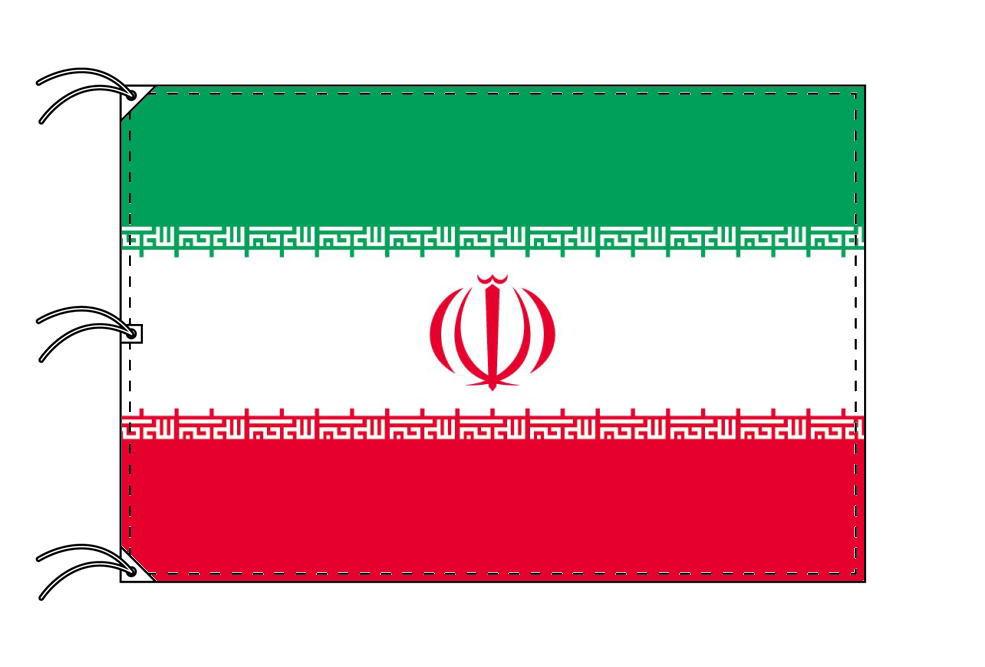 世界の国旗 イラン国旗[200×300cm・高級テトロン製]NO.6号