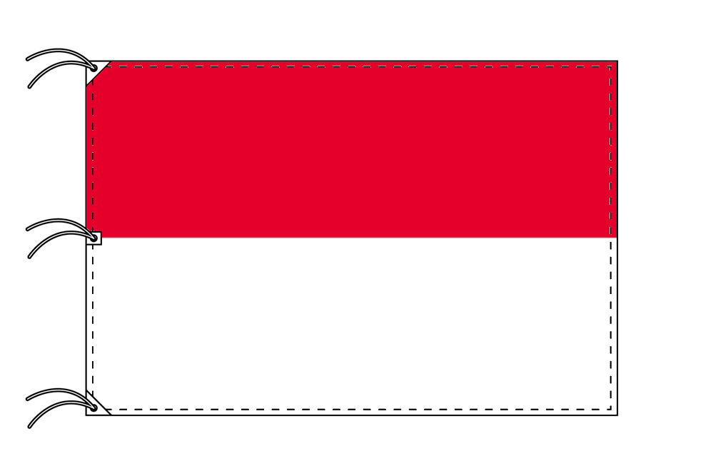 世界の国旗 インドネシア国旗[200×300cm・高級テトロン製]NO.6号
