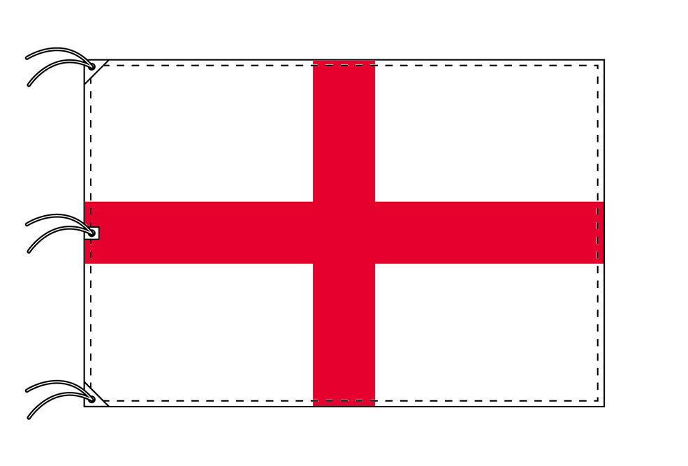 世界の国旗 イングランド国旗[200×300cm・高級テトロン製]NO.6号