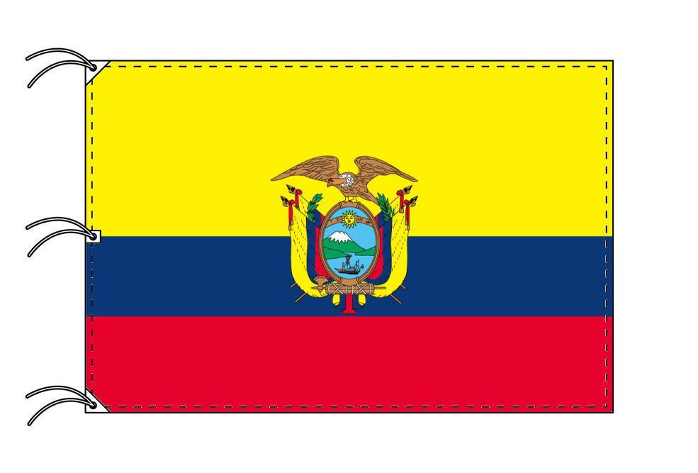 世界の国旗 エクアドル国旗[200×300cm・高級テトロン製]NO.6号