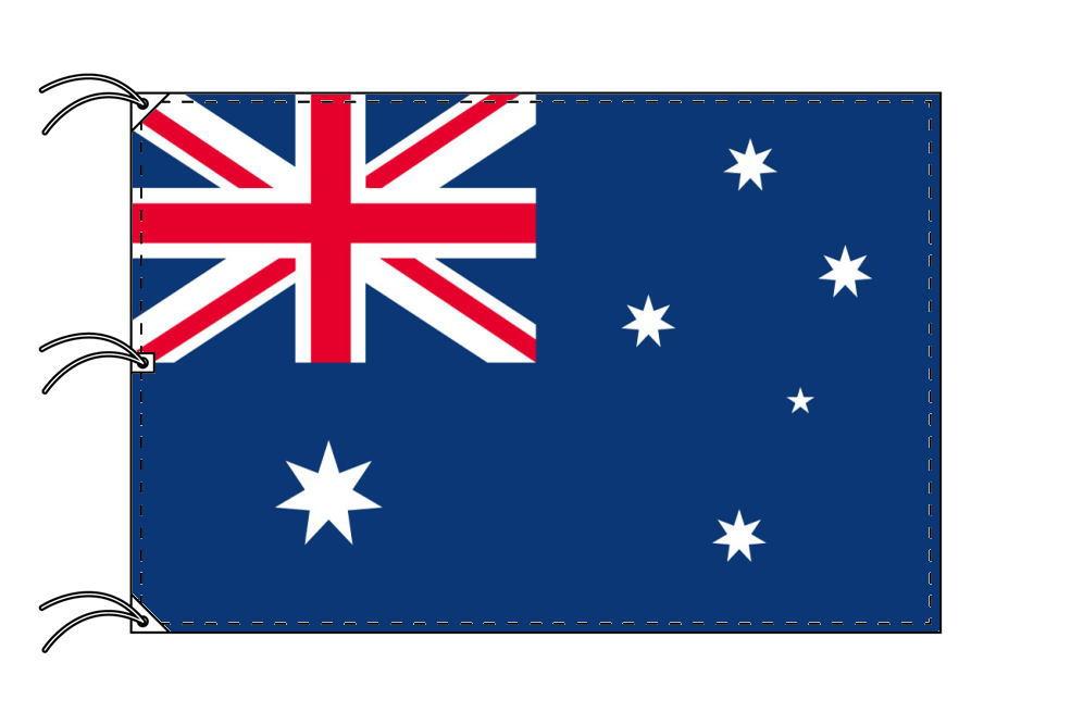 世界の国旗 オーストラリア国旗[200×300cm・高級テトロン製]NO.6号